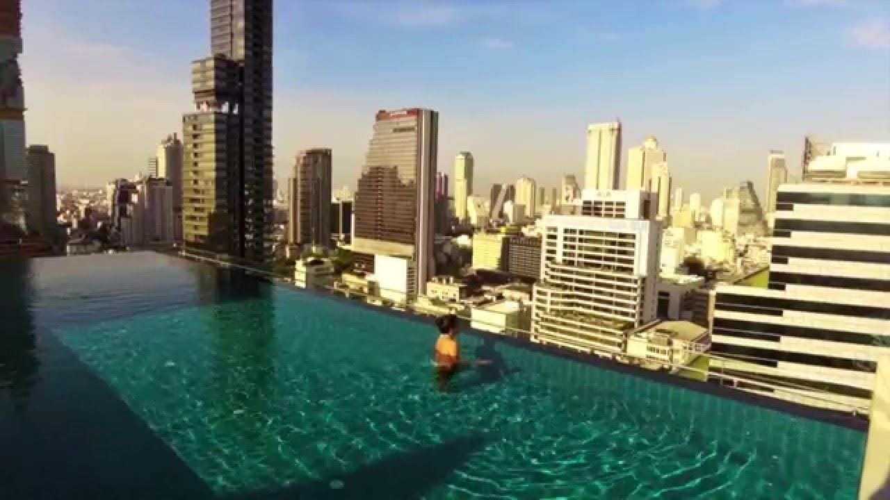 Rooftop Pool Amara Bangkok Perfect Day With Chill Out