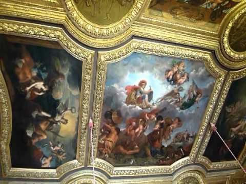ヴェルサイユ宮殿部屋 / One of room in the Palace of Versailles