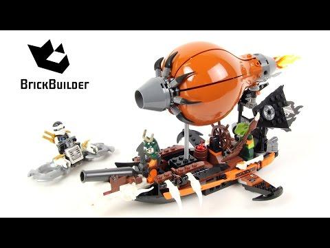 Lego Ninjago 70603 Raid Zeppelin Lego Speed Build Youtube