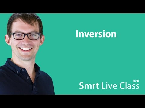 Inversion - Smrt Live Class with Shaun #18
