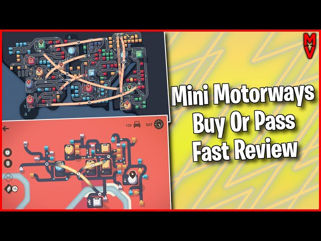 Mini Motorways Reviews Buy or Pass Fast Review || MumblesVideos
