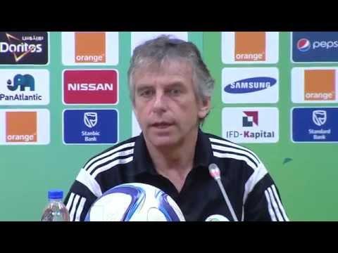 Algérie - Conférence de presse (26/01) - Orange Africa Cup of Nations, EQUATORIAL GUINEA 2015