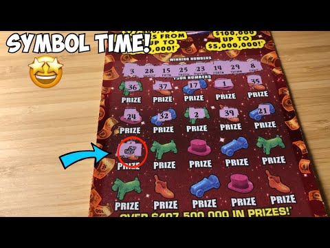Symbol Time!   3 X $20 Florida Lottery Scratch Tickets!