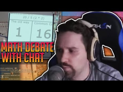 Math Debate with Chat