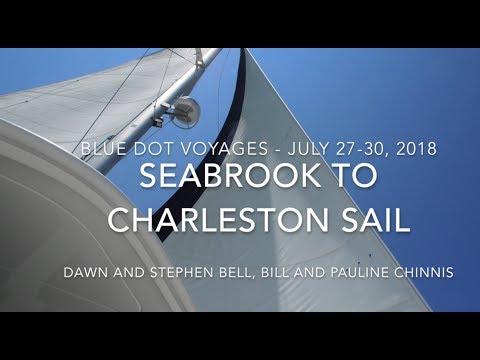 Sailing from Seabrook Island to Charleston SC