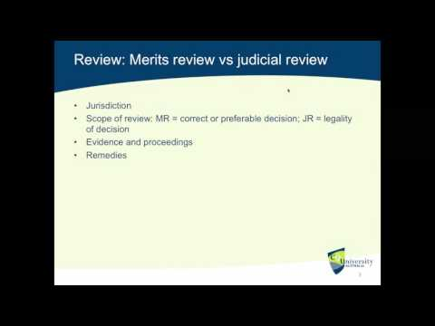 Administrative Law: Judicial Review and the Criteria for Lawful Decision-Making