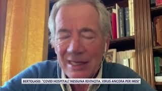 """Bertolaso: """"covid hospital? nessuna rivincita personale"""""""