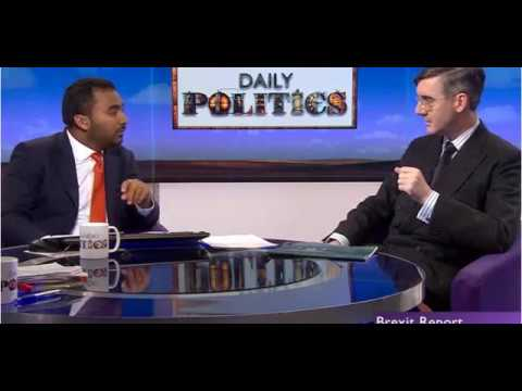 Rees-Mogg discuss Brexit, the single market and the Irish border