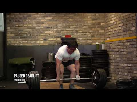 TSA W36 파워리프팅 훈련 Korean Powerlifting Training
