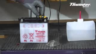 Proceso activación de batería