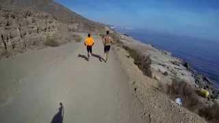 Laufstrecke Playa Macenas, Mojácar.