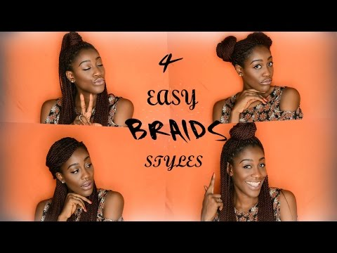 How to Style Braids (4 Easy Styles)