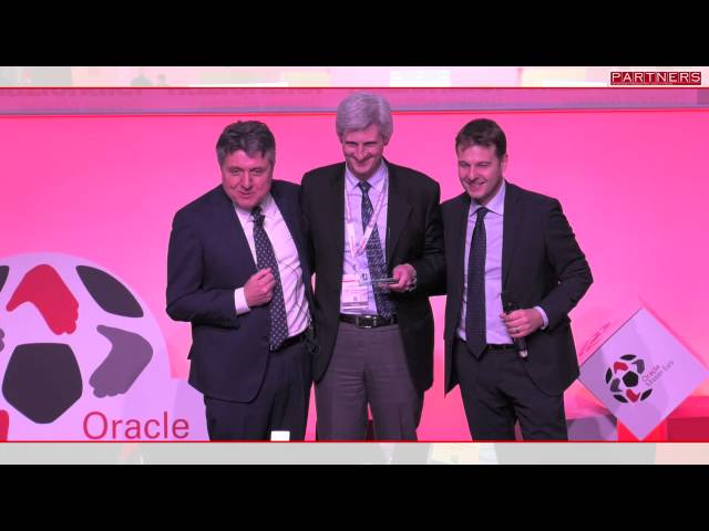 Oracle Partner Day 2016  Sopra Steria winner of  Specialized Partners of the Year Oracle Cloud  - YouTube