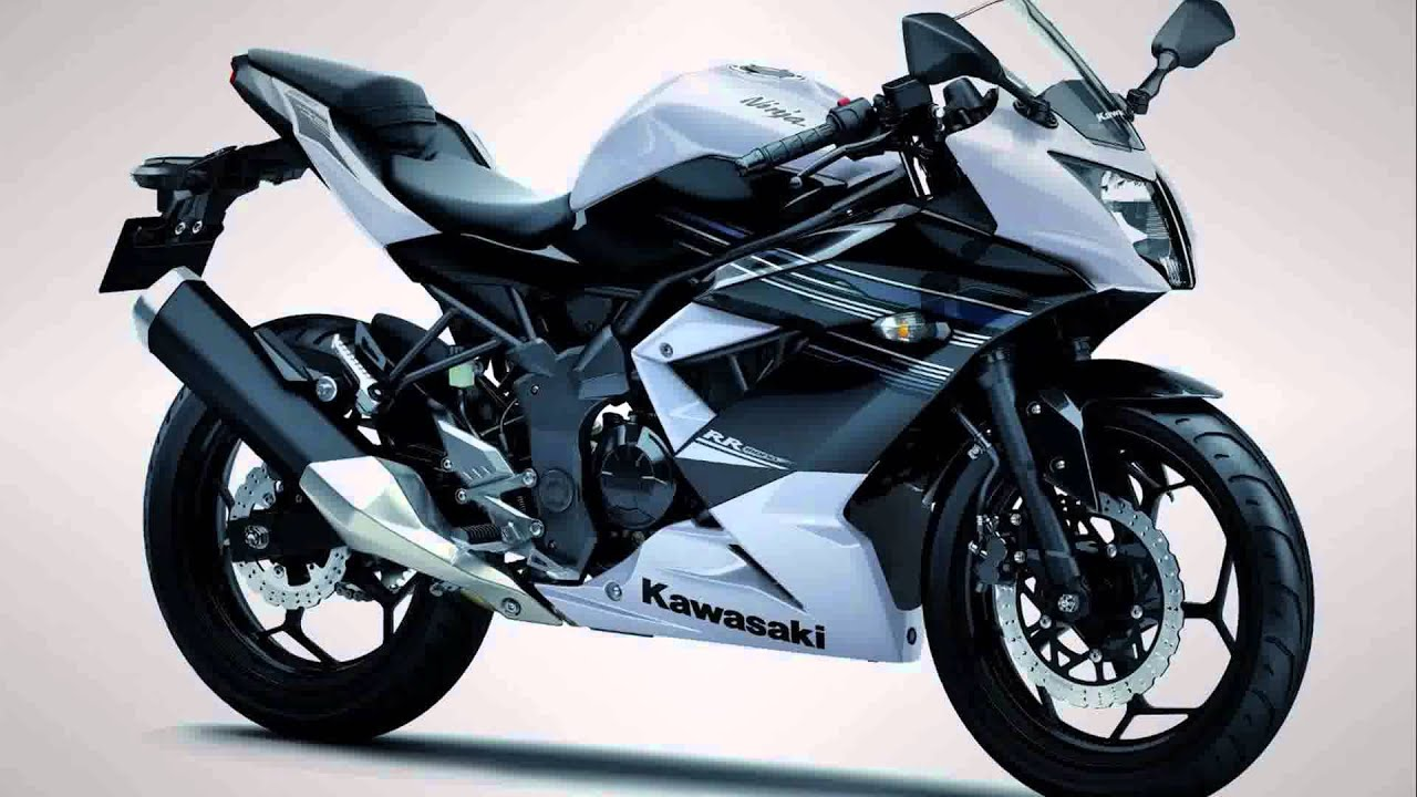 2015 model kawasaki ninja rr 250 mono - YouTube