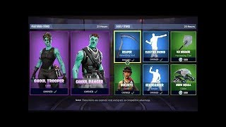 *NEW*FORTNITE ITEM SHOP COUNTDOWN! January 28th NEW SKINS!