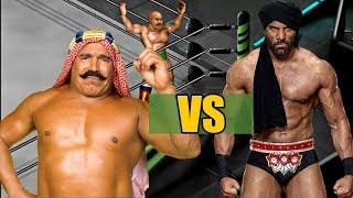 Jinder Mahal vs Iron Sheik