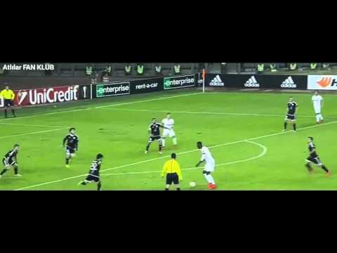 """Qarabağ FK 1:1 """"AS Monaco"""" 05.10.2015"""