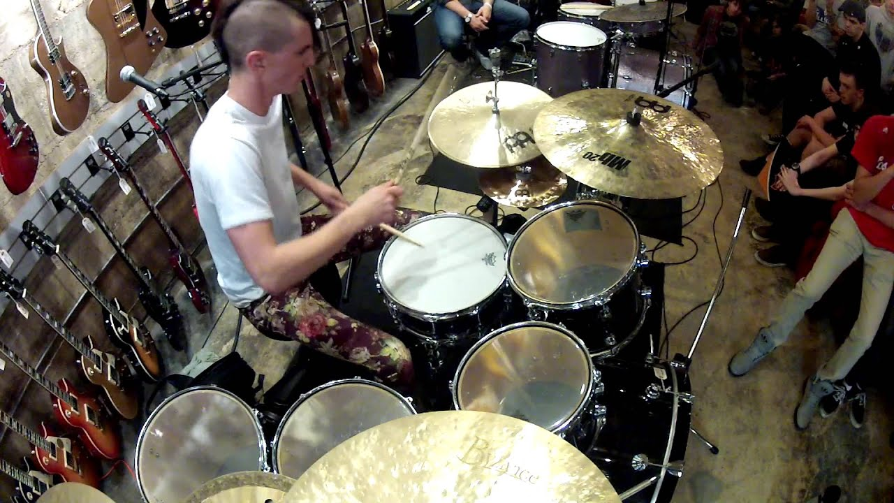 JP Bouvet - Drum Solo - from Clinic at \