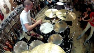 "JP Bouvet - Drum Solo - from Clinic at ""Russo,"" New Jersey"