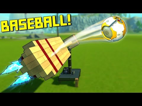 3 Dwarves Try to Hit Home Runs With Giant Bats... - Scrap Mechanic Multiplayer Monday
