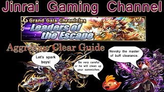 Brave Frontier GGC Leaders Of The Escape clear guide