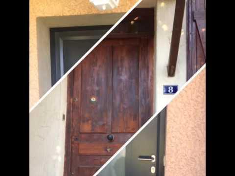 Portes d'entrées remplacées par EXPERTISE MENUISERIES