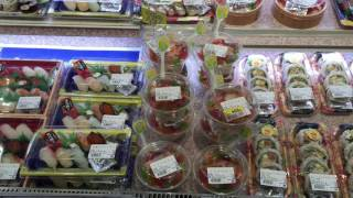Japanese Supermarket Sushi | Supermarket lunches - Tuesday