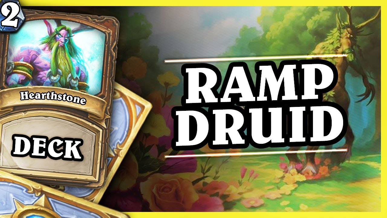 RAMP DRUID 2/2 – Hearthstone Decks