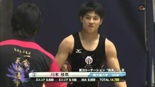 20141102 Ryoma KAWAMOTO VT 川本稜馬