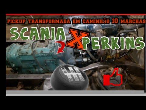 Chevrolet C10 câmbio de  Scania 111s CTGM tractors !!! C14 parte 1