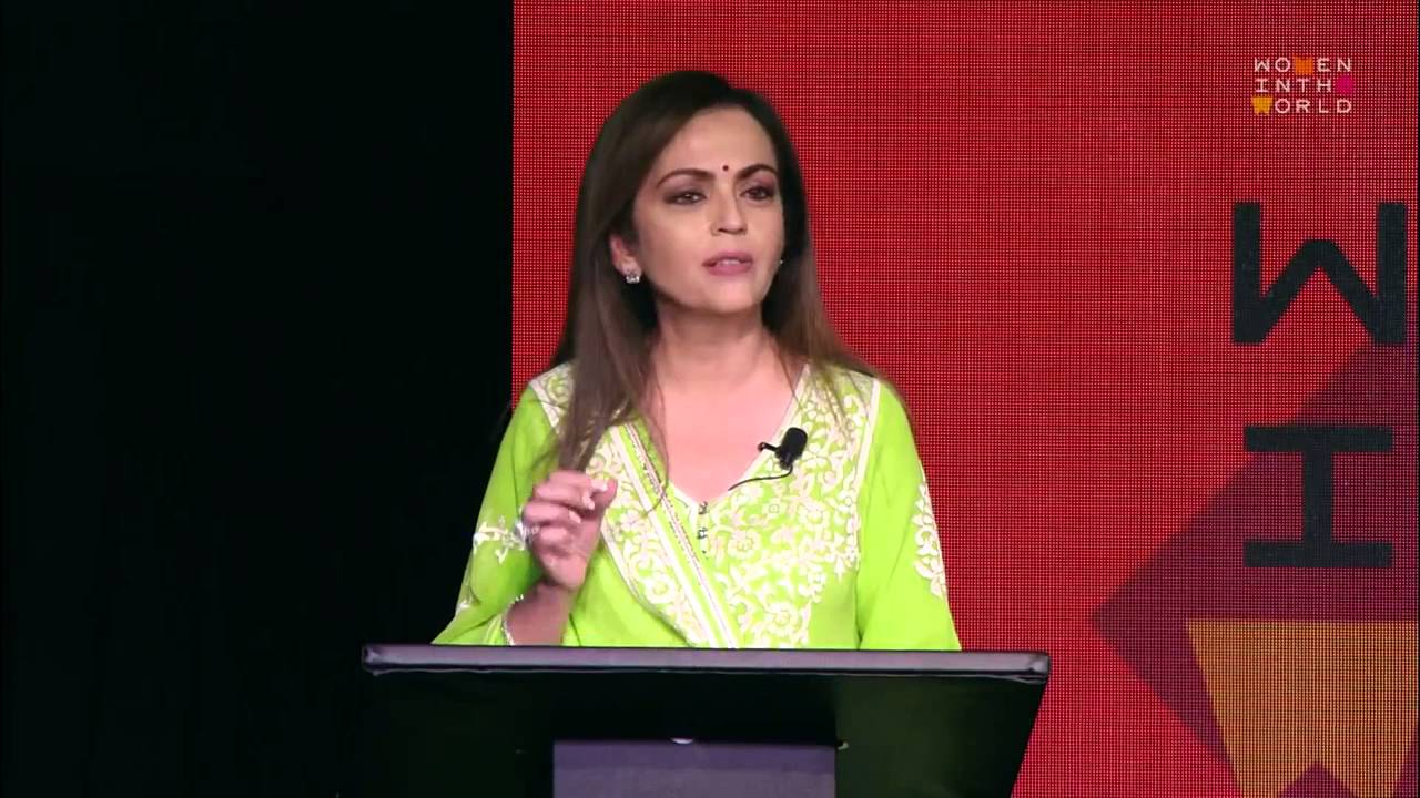 nita ambani on women s empowerment women in the world  nita ambani on women s empowerment women in the world 2015 summit