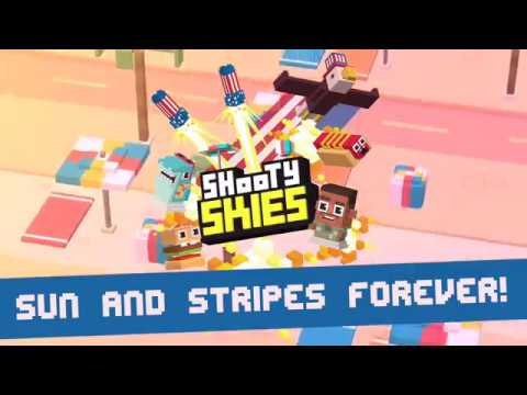 Shooty Skies Sun and Stripes Forever Update!