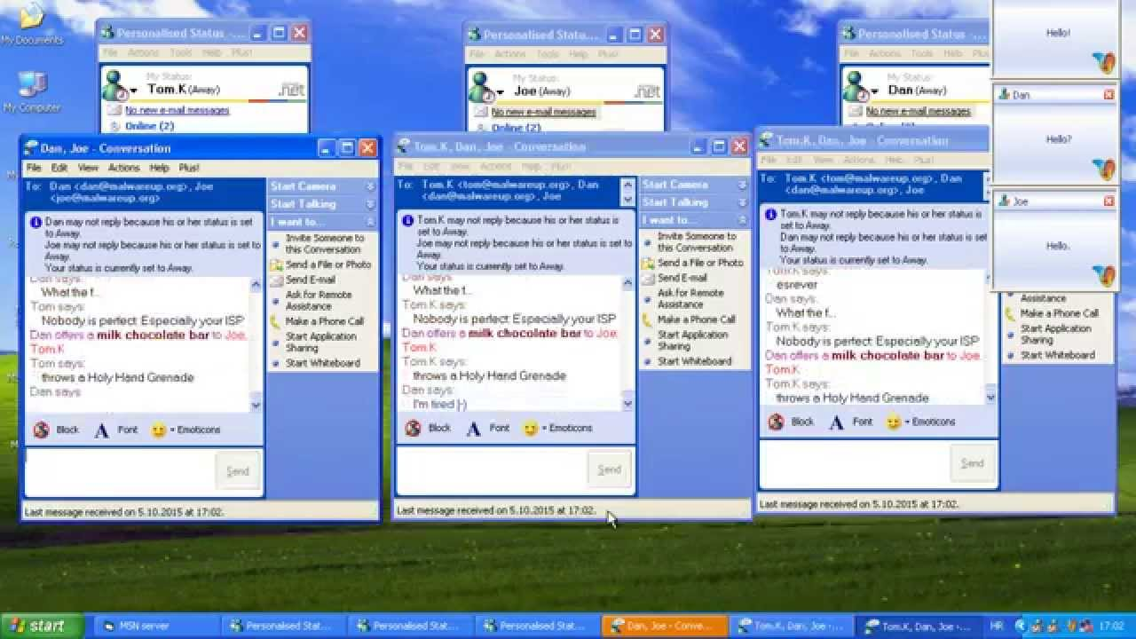 How to locate your instant message history in msn messenger.