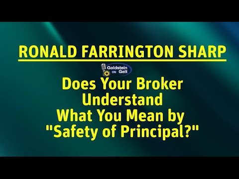 ronald farrington sharp does your broker understand what you mean