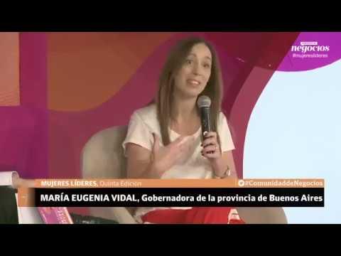 María Eugenia Vidal reveló que busca trabajo desde marzo