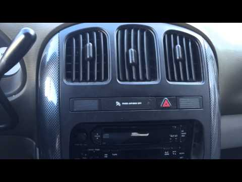 Installing an aftermarket radio in your 4th Generation Chrysler or Dodge Minivan.