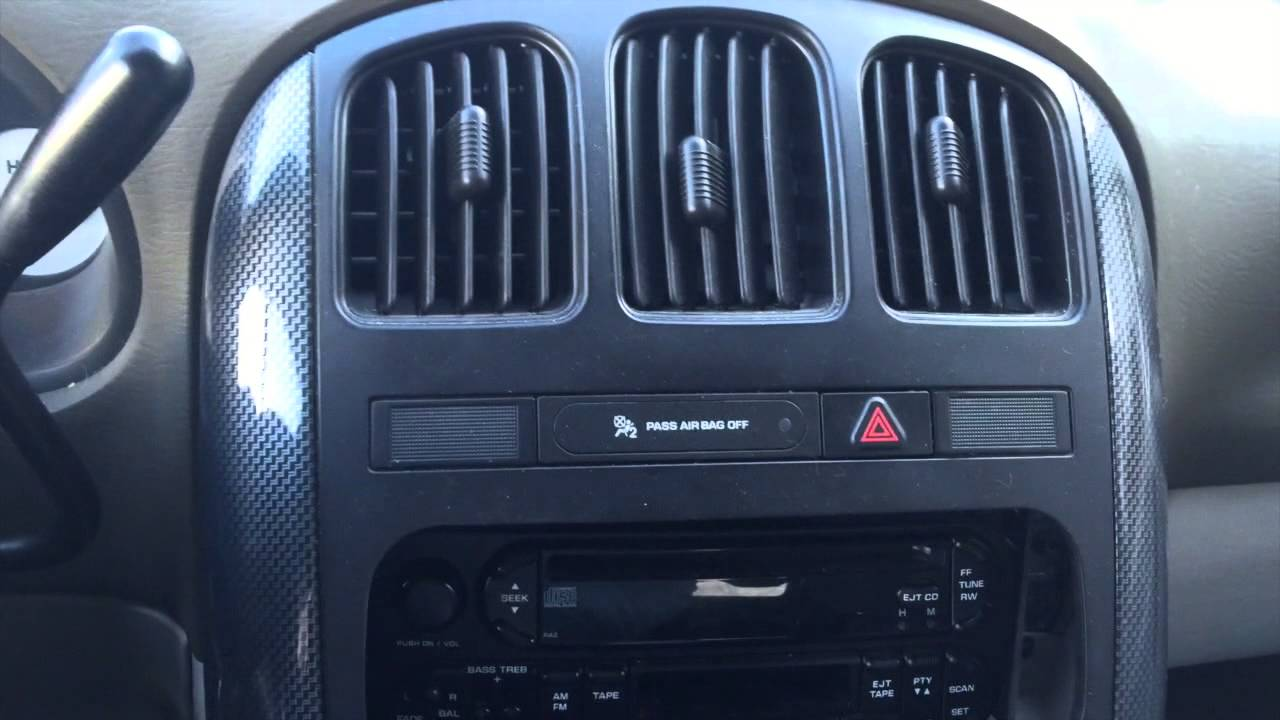 hight resolution of installing an aftermarket radio in your 4th generation chrysler or dodge minivan youtube