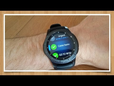 Samsung Gear S3 - Task and Reminder app - Sync with Google Tasks - My Tasks for Gear