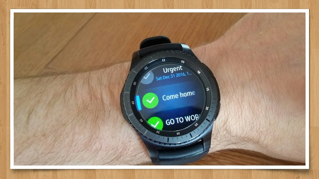 Agenda App Sync samsung gear s3 - task and reminder app - sync with google tasks - my tasks  for gear