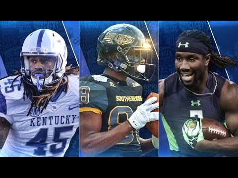 Los Angeles Rams draft ILB Josh Forrest, WR Mike Thomas and TE Temarrick Hemingway | Highlights |