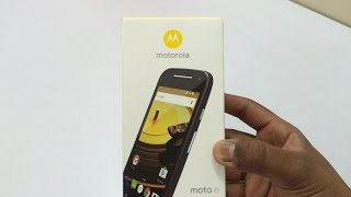 Moto E 2nd Generation Unboxing and Hands On (Indian Retail Unit)