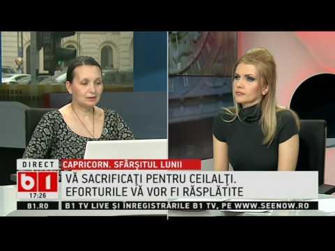 HOROSCOP 360 De Grade, Cu Alina Badic ZODIA CAPRICORN 25 31  MARTIE  2017