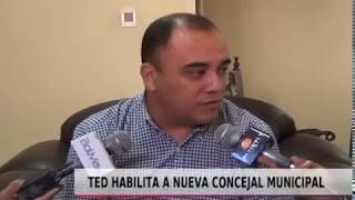 TED HABILITA NUEVO CONCEJAL MUNICIPAL