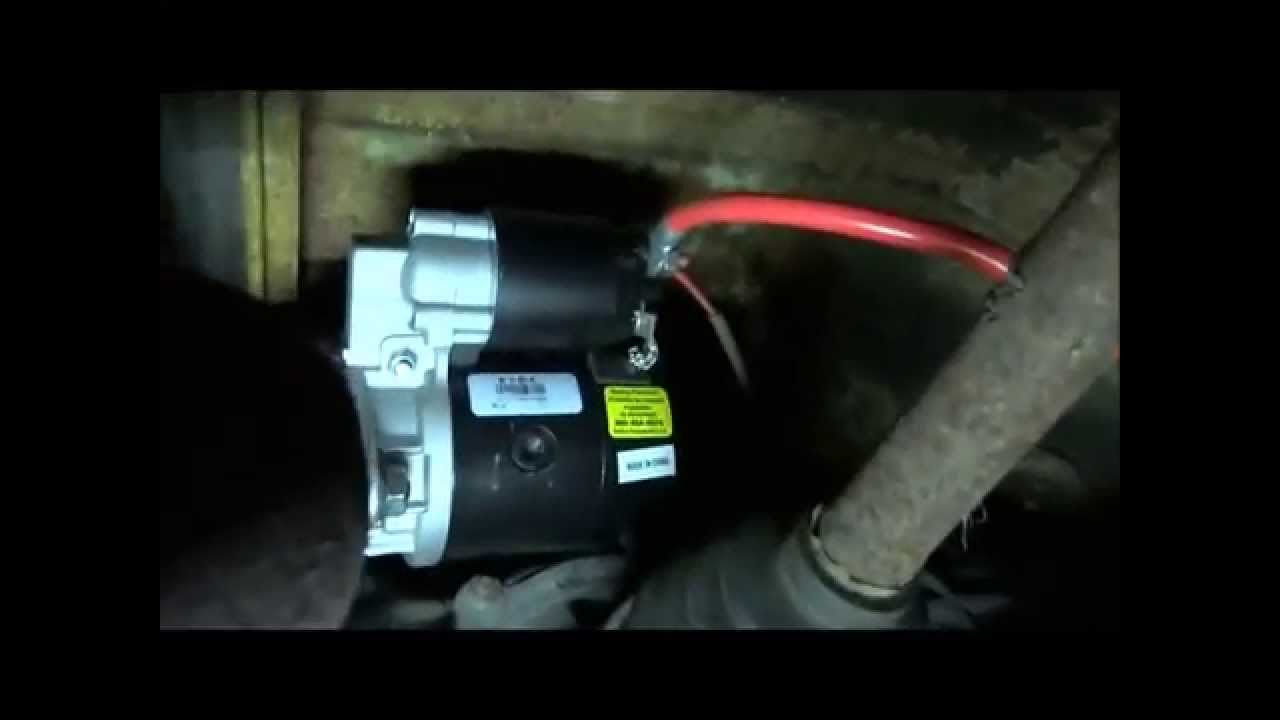 Wiring Diagram For  1973 Vw Starter Removal Youtube