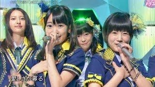 【HD】 HKT48 メロンジュース (2013.09.07)