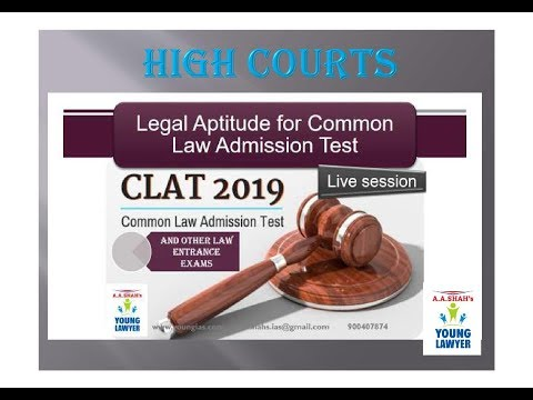 Legal aptitude for CLAT 2019 CLAT AILET MH-CET SSC BANKING RAILWAYS (RRB) STATE PSC