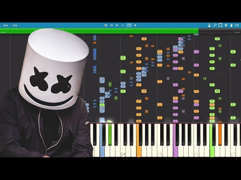 IMPOSSIBLE REMIX - Keep It Mello - Marshmello - Piano Cover