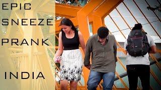 Epic Sneeze Prank India