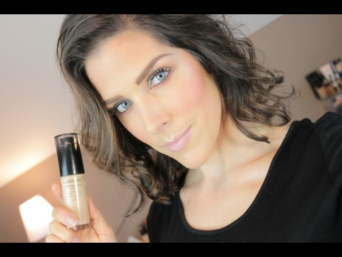 New Shiseido Syncro Glow Foundation | Review & Demo | Mandy Davis MUA