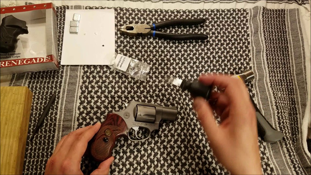 Pachmayr Renegade grip install Tuarus 85